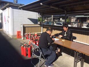 令和元年11月10日(日)浜松市西消防署にて不要消火器回収しました