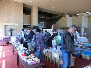 4月27日(土)袋井市防災資機材展示会にて皆様に立ち寄って頂けました
