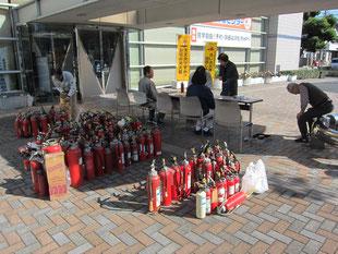 令和元年11月10日(日)不要消火器回収しました。