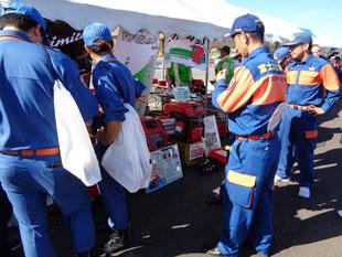 第37回静岡県消防操法大会のひとコマ