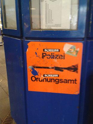 gesehen am Hauptbahnhof Bonn