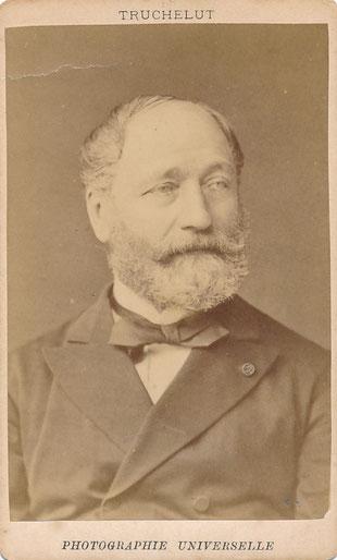 Théodore BALLU (1817-1885), architecte, peintre photo photographie Truchelut