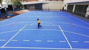 Suelos y pavimentos industriales deportivos con resinas continuos en Barcelona