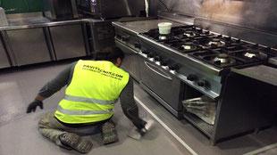 Suelos y pavimentos industriales para la hostelería de resinas continuos en Barcelona