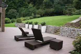 WPC Terrasse, Gartengestaltung Gelbrich - Wuppertal