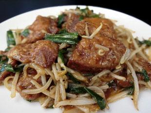 ネーミングの由来:これを食されたお客様に「ロサンゼルスに出店できる!」「中国で食べるより美味しい!」等々のお言葉を頂き、つけさせていただきました。