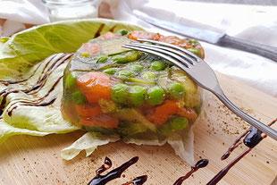 Gemüsesulze, vegan