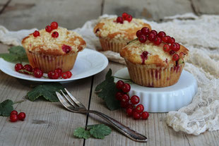 Ribisel-Streusel-Muffins