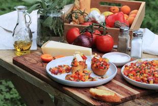 fruchtige Salsa mit Marillen