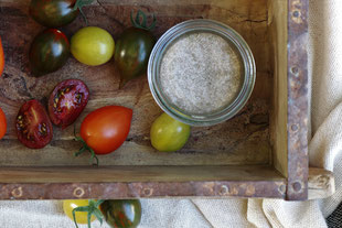 Tomatensalz mit Tomaten