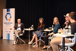Podiumsgespräch mit Wolfram Kons und Martina Enthammer