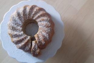 Birnen-Marzipan-Kuchen