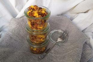 Mango-Linsensalat