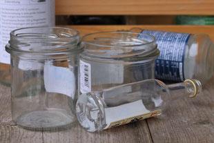Gib deinem Altglas ein neues zu Hause