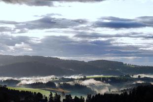 Joglland - Stimmung am Morgen