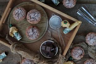 Schokoladenmuffins mit Underberg