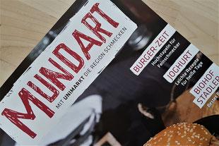 UNI Markt Zeitschrift MUNDART