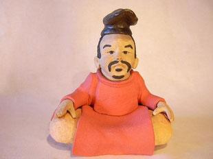 山部赤人人形