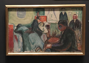 Der Tod des Bohemien, 1925/26, Öl auf Leinwand. (Foto: Yvonne Schauch)
