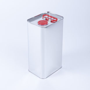 metal canister metal packaging HUBER Packaging