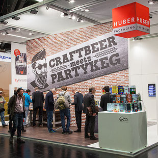 HUBER Packaging auf Messen