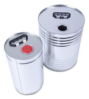 metal canister metal packaging HUBER Packaging