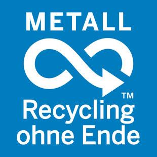 Metallverpackungen nachhaltig Recycling HUBER Packaging