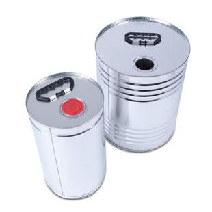 Metallkanister Flachkanne HUBER Packaging