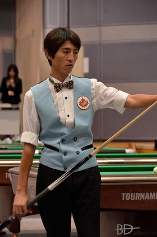 B.D.が好きなヤン様こと楊清順(台湾)は今年も全日本選手権に参戦の予定