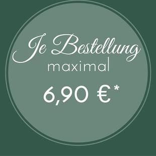 Versandkostenfestpreis innerhalb Deutschlands