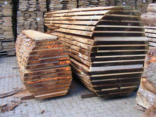 Platane und Redwood, Tischplatte, Max Cropp Hamburg, Exotische Hölzer aus aller Welt, besondere Tischplatten