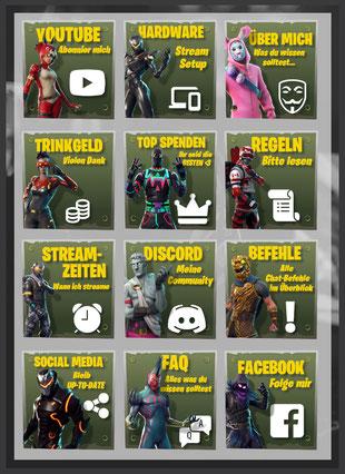 Twitch Panels 71