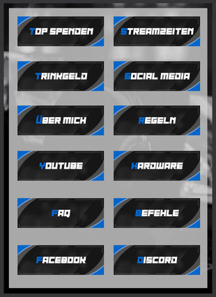Twitch Panels 85