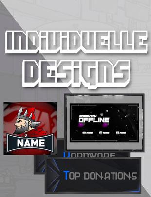 individuelle twitch designs kaufen