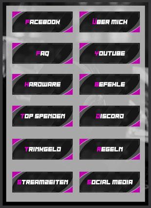 Twitch Panels 88
