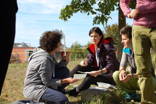 Teilnehmer Kurs Natur