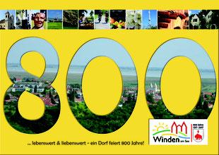 800 Jahre Winden am See - ein Dorf feiert!