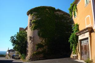 Wachturm am Chateau Rousset