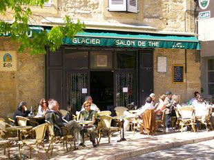 ein Café in der Sonne geht immer!