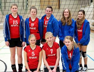 Die Spielerinnen der U16 - Bezirksliga - 2011/2012