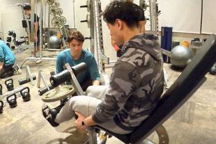レッグエクステンション|大阪のパーソナルトレーニング「ファーストクラストレーナーズ」