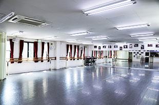 2階バレエスタジオ