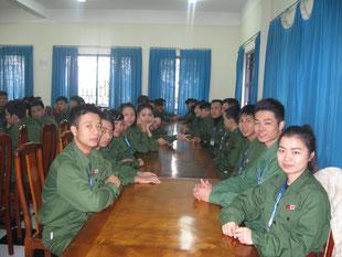 ベトナムCOLECTOの技能実習生たち