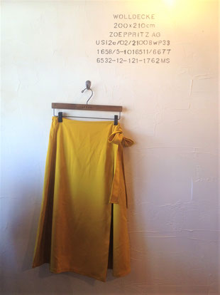 からし色スカート 8900
