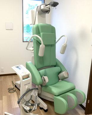 腰椎牽引 頸椎牽引 腰痛 椅子型牽引装置 頸痛