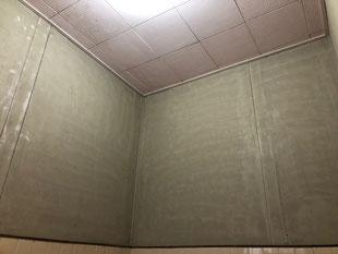 在来浴室天井壁塗装