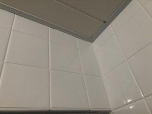 浴室タイル損傷部補修成形