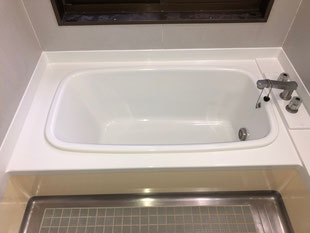 カラーステンレス浴槽再生塗装