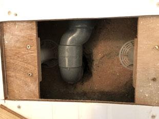 賃貸マンションユニットバス洗い場再生工事