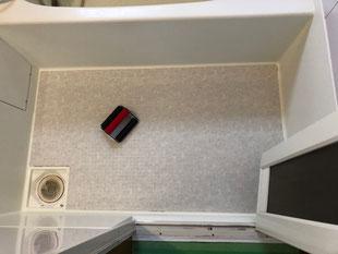 ユニットバスパネル貼り、シート貼り